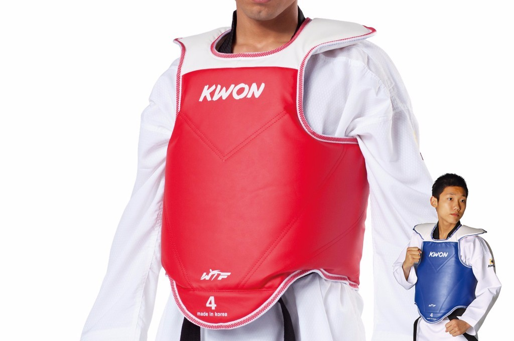 "Body Protector ""WTF"" Reversible - Kwon"